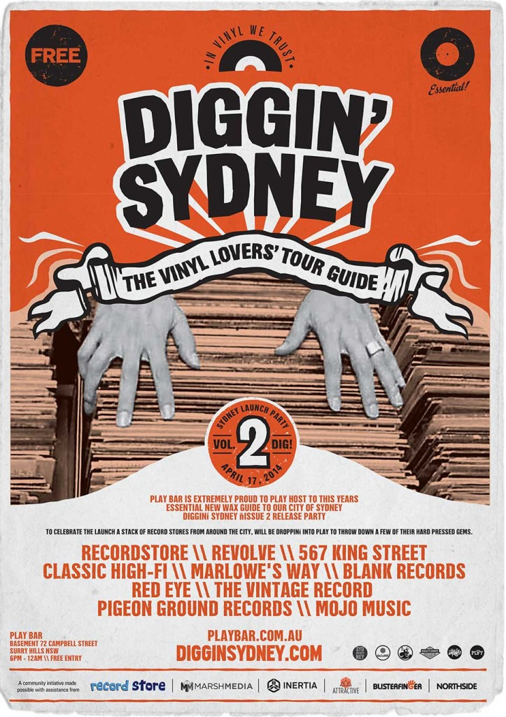 DIGGIN SYDNEY 2014 GUIDE LAUNCH